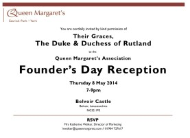 2014-3-13 Founder's Day Invitation